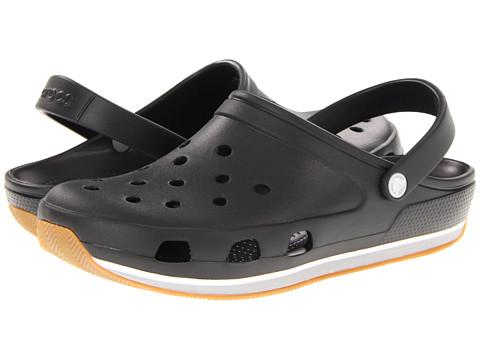 Sandale Crocs - Retro Clog - Black/Light Grey