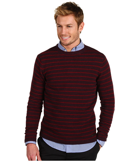 Pulovere Ted Baker - Lanahoy L/S Sweater - Dark Red