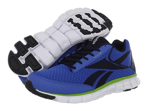 Adidasi Reebok - SmoothFlex CushRun 2.0 - Blue Sport/Black/Gusto Green/White