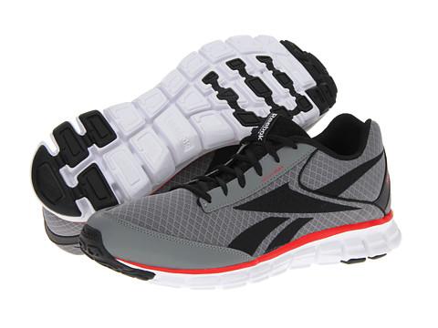 Adidasi Reebok - SmoothFlex CushRun 2.0 - Flat Grey/Black/Red Attack/White