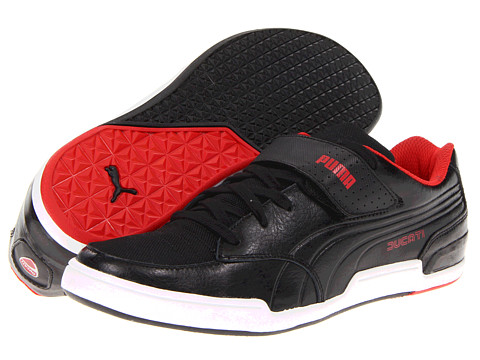 Adidasi PUMA - Street Rider Low Ducati⢠- Black/Black/High Risk Red