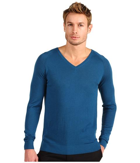 Bluze Elie Tahari - Blake Pullover J86XX512 - Ocean Wave