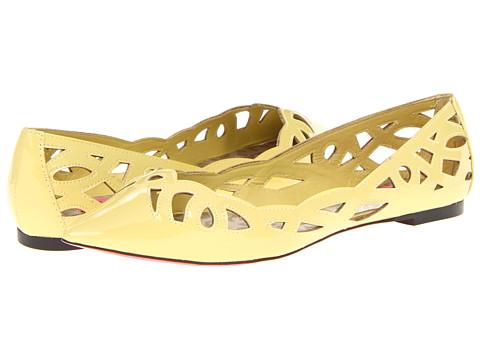Balerini Betsey Johnson - Emmi - Yellow Patent