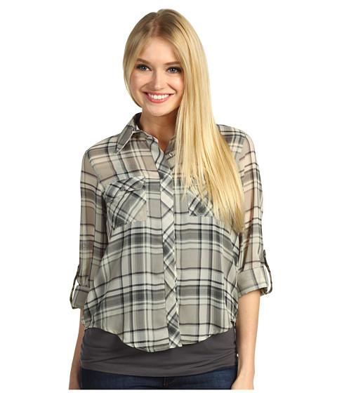 Bluze Christin Michaels - Giana Shirt - Ivory/Black