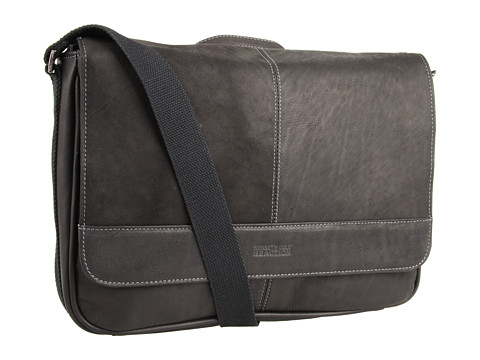 Genti de voiaj Kenneth Cole Reaction - ââ¬ËRisky Businessââ¬â¢ Single Gusset Messenger Bag - Black