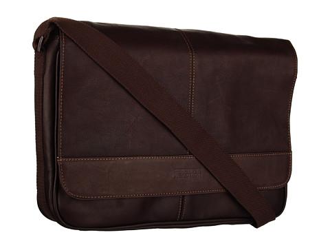 Genti de voiaj Kenneth Cole Reaction - ââ¬ËRisky Businessââ¬â¢ Single Gusset Messenger Bag - Dark Brown