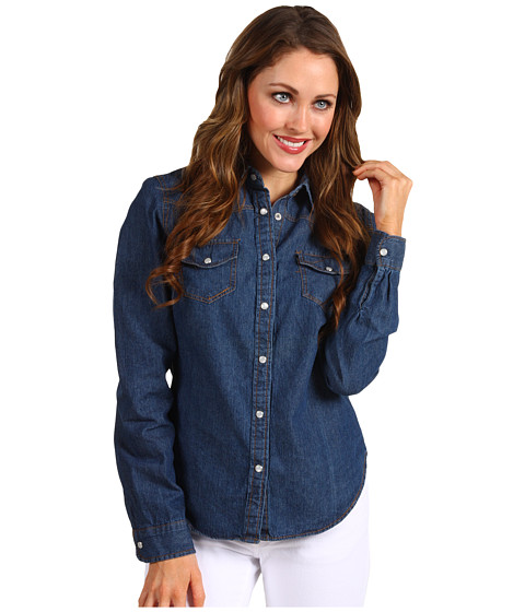 Bluze Christin Michaels - Aliahe Shirt - Dark Denim