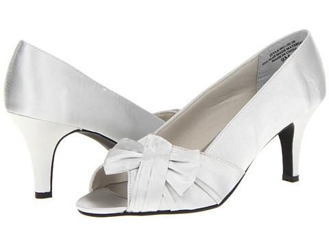 Pantofi Annie - Precious - Silver Satin