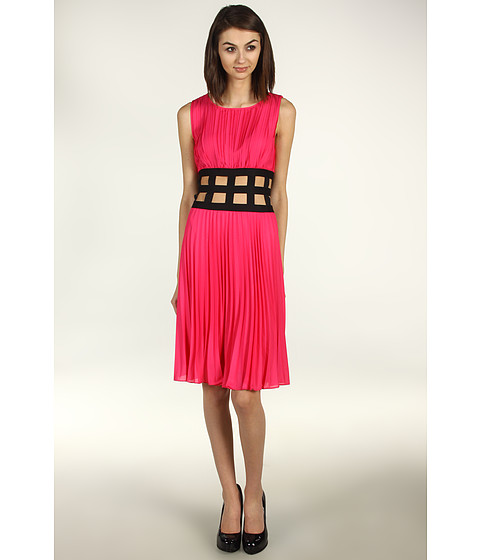 Rochii BCBGMAXAZRIA - Gisele Pleated Dress - Ultra Pink