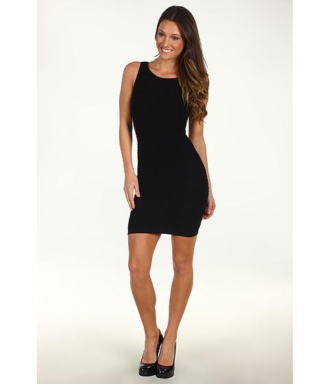 Rochii BCBGeneration - Sleeveless Cutout Bodycon Dress - Black