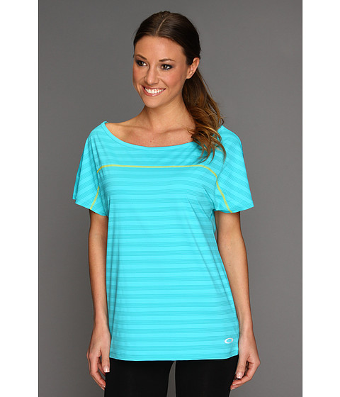 Tricouri Oakley - Extend Knit Top - Bright Aqua