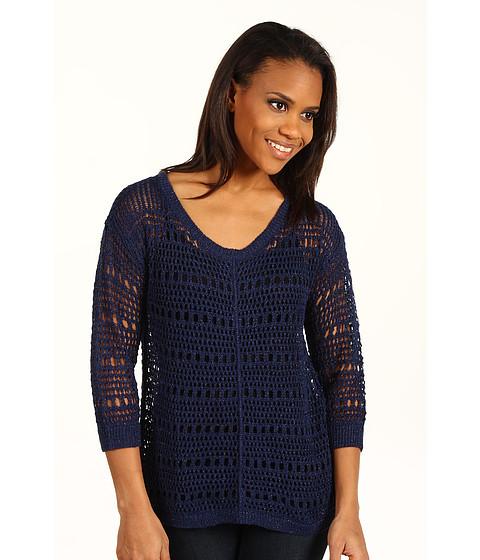 Bluze DKNY - Shiny Open Stitch Pullover - Evening