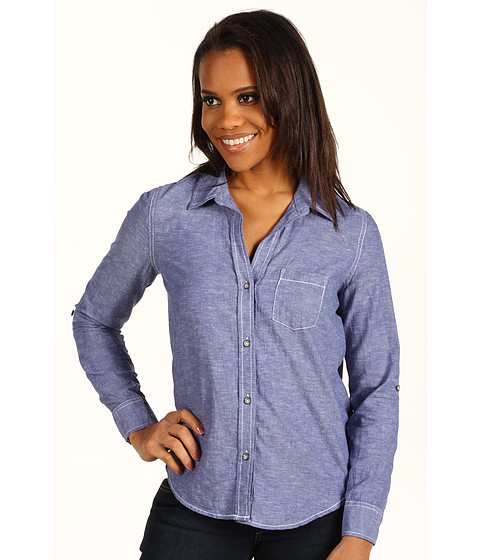 Bluze DKNY - Chambray Top - Indigo