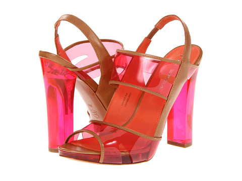 Sandale Via Spiga - Clair - Hot Pink/Camel