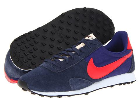 Adidasi Nike - Pre Montreal Racer Vintage - Obsidian/Deep Royal Blue/Blue Tint/Hyper Red