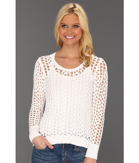 Bluze Lucky Brand - Macey Metallic Sweater - Lucky White