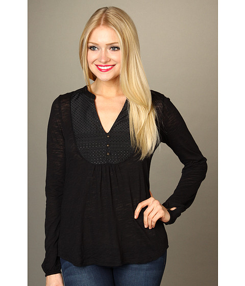 Bluze Lucky Brand - Lexie Top - Black