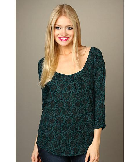 Bluze Lucky Brand - Chantilly Naomi Top - Green Multi