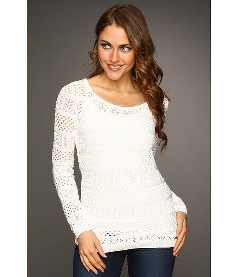 Tricouri Calvin Klein - Open Stitch Pullover - Winter White