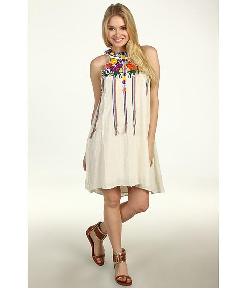Rochii Free People - Holiday Fiesta Dress - Natural Combo