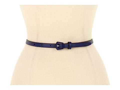 "Curele LAUREN Ralph Lauren - 1/2\"" Vachetta Belt with Geometric LCB - Sail Blue"