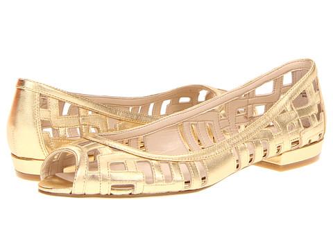 Balerini Nine West - Jyana - Gold Metallic Leather