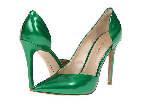 Pantofi Nine West - Goulding - Green Synthetic
