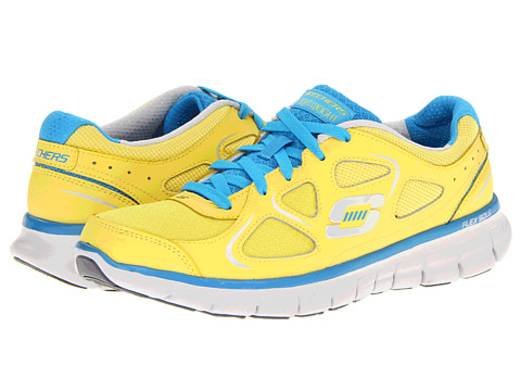 Adidasi SKECHERS - Synergy - High Gear - Yellow/Turqouise