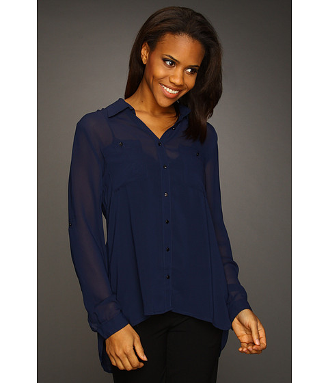 Bluze Kenneth Cole - Blouse w/ Layered Back - Midnight