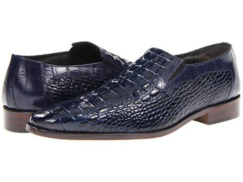 Pantofi Stacy Adams - Fontana - Dark Blue/Eelskin Print Leather