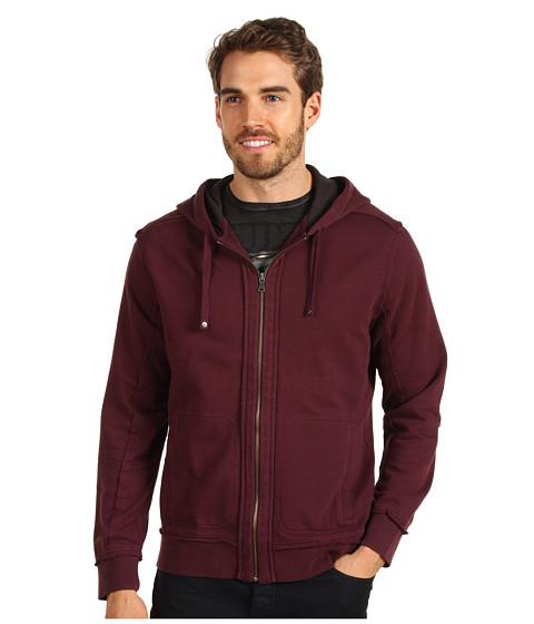 Tricouri Calvin Klein - L/S Full Zip - Dark Brocade