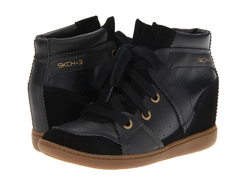 Adidasi SKECHERS - SKCH Plus 3 - High Fly - Black