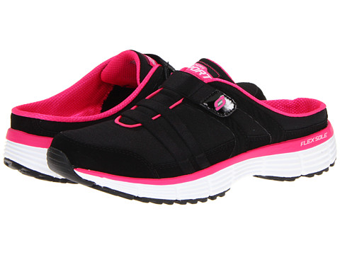 Sandale SKECHERS - Agility - Kick Back - Black/Hot Pink