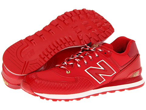 "Adidasi New Balance - ML574 \""Year of the Snake\"" - Red/Snake"