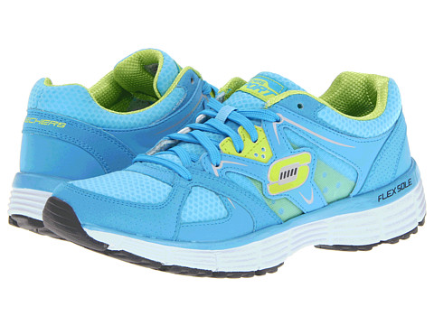 Adidasi SKECHERS - Agility - New Vision - Blue/Lime