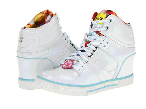 Adidasi SKECHERS - Daddy\s Money - Cha-Ching - White