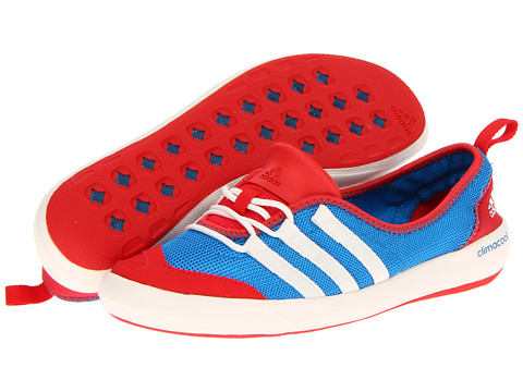 Adidasi adidas - CLIMACOOLî Boat Sleek - Craft Blue/Chalk/Vivid Red