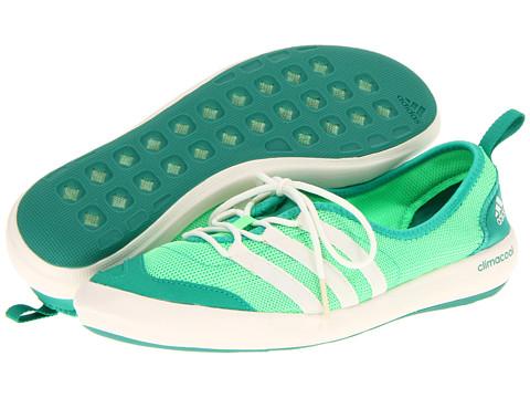 Adidasi adidas - CLIMACOOLî Boat Sleek - Green Zest/Chalk/Blaze Green