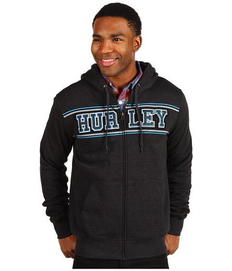 Bluze Hurley - Dreams Fleece Zip-Up Hoodie - Heather Black