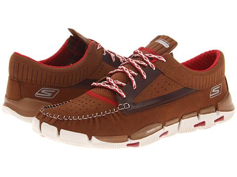 Adidasi SKECHERS - GObionic - Moccasin - Brown