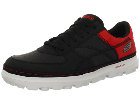 Adidasi SKECHERS - On The GO - Court - Black Red
