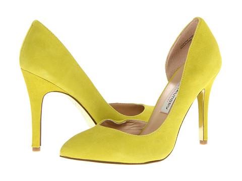 Pantofi Chinese Laundry - Kristin Cavallari - Copertina - Lime Punch Kid Suede