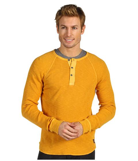 Bluze Lucky Brand - Slub Thermal Henley - Saffron