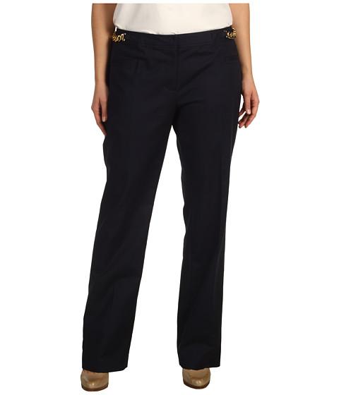 Pantaloni Michael Kors - Doubleface Sexy Hardware Pant - Navy