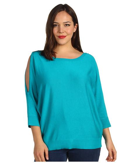 Bluze Michael Kors - Cold Shoulder Sweater - Tile Blue