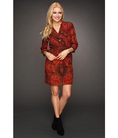 Rochii Lucky Brand - Oriental Rug Shirt Dress - Multi