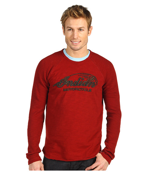 Bluze Lucky Brand - Indian Motorcycle L/S - Dharma Red