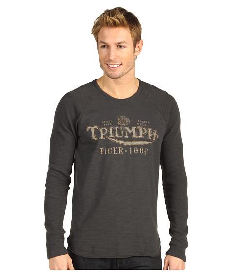Bluze Lucky Brand - Triumph World\s Fastest L/S - Black Mountain