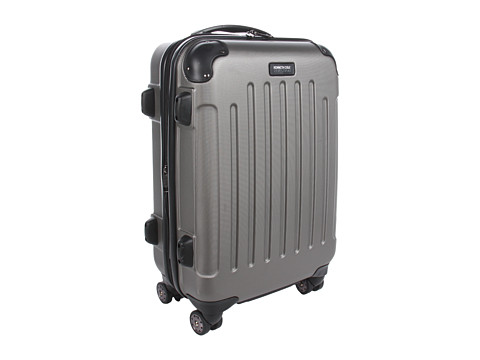 """Genti de voiaj Kenneth Cole Reaction - Renegade - 20\"""" Expandable 8-Wheeled Upright/ Carry-On - Silver"""