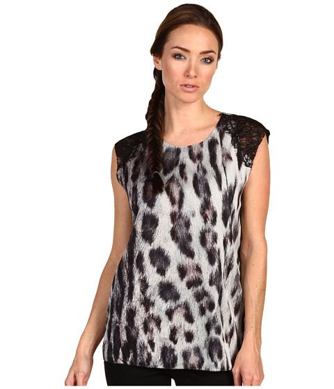 Bluze Rachel Roy - Lace Shell - Ocelot Print